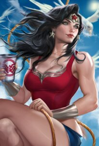 Rating: Safe Score: 35 Tags: cleavage dc_comic sakimichan wonder_woman User: mash
