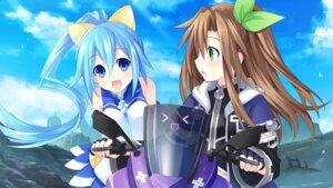 Rating: Safe Score: 24 Tags: choujigen_game_neptune game_cg hatsumi_sega if_(choujigen_game_neptune) neptune tsunako User: Nepcoheart