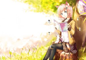 Rating: Safe Score: 29 Tags: animal_ears neko thighhighs xuè_fēng User: KazukiNanako