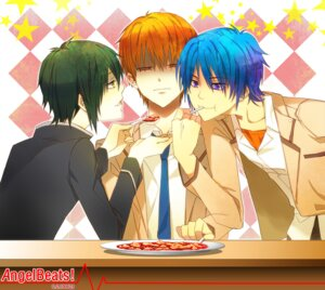Rating: Safe Score: 9 Tags: angel_beats! gray_crow hinata_(angel_beats!) male naoi_ayato otonashi seifuku User: Ponnkun