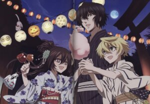 Rating: Safe Score: 5 Tags: alice_(pandora_hearts) crease gap gilbert_nightray oz_vessalius pandora_hearts yukata User: acas