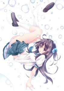 Rating: Safe Score: 75 Tags: pantsu ryo_(botsugo) seifuku User: Mr_GT