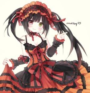 Rating: Safe Score: 24 Tags: cleavage date_a_live dress gothic_lolita heterochromia lolita_fashion no_bra skirt_lift tagme tokisaki_kurumi User: charunetra