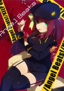 Rating: Safe Score: 44 Tags: angel_beats! garter_belt kippu noda stockings thighhighs uniform yurippe User: Radioactive