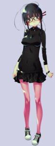 Rating: Safe Score: 35 Tags: megane pantyhose sakuya_tsuitachi User: saemonnokami