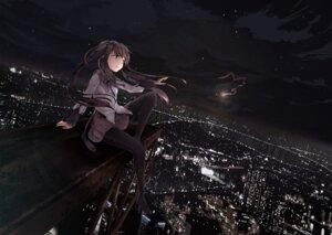 Rating: Safe Score: 49 Tags: ahirun akemi_homura pantyhose puella_magi_madoka_magica seifuku User: fairyren