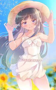 Rating: Questionable Score: 32 Tags: dress gokou_ruri ore_no_imouto_ga_konnani_kawaii_wake_ga_nai see_through shinonome_mozuku summer_dress User: Mr_GT