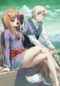 Rating: Questionable Score: 6 Tags: koume_keito spice_and_wolf tagme User: kiyoe