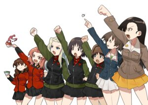 Rating: Safe Score: 8 Tags: alina_(girls_und_panzer) clara_(girls_und_panzer) girls_und_panzer inou_takashi maruyama_saki nina_(girls_und_panzer) nishi_kinuyo rosehip rukuriri uniform User: Radioactive