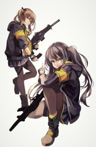 Rating: Questionable Score: 13 Tags: girls_frontline gun homo_1121 pantyhose ump45_(girls_frontline) ump9_(girls_frontline) User: Dreista