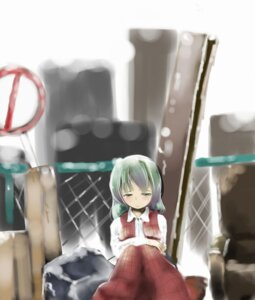 Rating: Safe Score: 1 Tags: hori_kotatsu kazami_yuuka touhou User: Radioactive