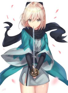Rating: Safe Score: 59 Tags: fate/grand_order fate/stay_night haru_ato japanese_clothes sakura_saber sword User: nphuongsun93
