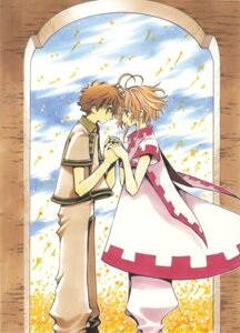 Rating: Safe Score: 9 Tags: clamp kinomoto_sakura li_syaoran tsubasa_reservoir_chronicle User: LulukoVladmont