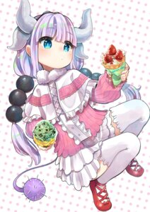 Rating: Safe Score: 23 Tags: horns kanna_kamui kobayashi-san_chi_no_maid_dragon tail thighhighs tsurushima_tatsumi User: Mr_GT