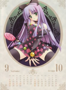 Rating: Questionable Score: 30 Tags: calendar carnelian nopan see_through thighhighs User: Aurelia