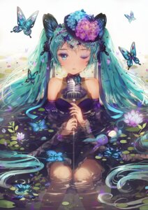 Rating: Safe Score: 64 Tags: dangmill dress hatsune_miku vocaloid wet User: Mr_GT