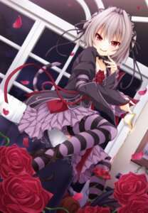 Rating: Safe Score: 86 Tags: gothic_lolita hapymaher heels lolita_fashion naitou_maia tail thighhighs wakagi_repa User: KazukiNanako