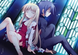 Rating: Questionable Score: 11 Tags: blood dress korie_riko tagme torn_clothes User: Twinsenzw