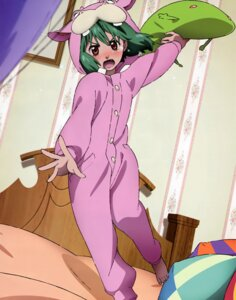Rating: Safe Score: 15 Tags: animal_ears macross macross_frontier oosanshouuo-san pajama ranka_lee tsukahara_hajime User: Aurelia