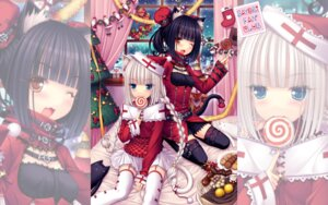 Rating: Safe Score: 68 Tags: animal_ears chocolat christmas neko_para neko_works nekomimi sayori stockings tail thighhighs vanilla wallpaper User: Mr_GT