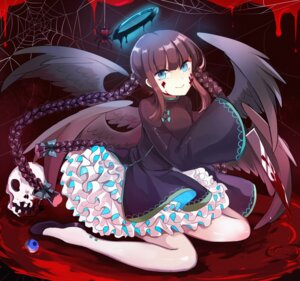 Rating: Safe Score: 36 Tags: blood dress wings xinghuo User: Mr_GT