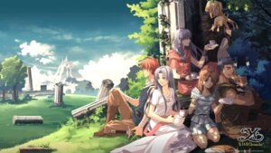 Rating: Safe Score: 30 Tags: bandages dress enami_katsumi landscape sword wallpaper ys User: blooregardo