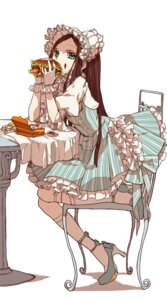 Rating: Safe Score: 39 Tags: cream dress heels lolita_fashion massuru User: KazukiNanako