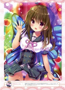 Rating: Questionable Score: 64 Tags: kino kinokonomi pantsu seifuku wings User: drop