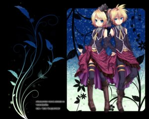 Rating: Safe Score: 11 Tags: chirota kagamine_len kagamine_rin vocaloid wallpaper User: charunetra