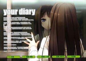 Rating: Safe Score: 17 Tags: ayase_sayuki cube kantoku your_diary User: Kalafina