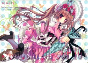 Rating: Questionable Score: 27 Tags: dress hisuitei izumi_tsubasu lolita_fashion thighhighs User: fireattack