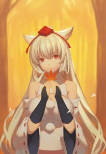 Rating: Safe Score: 22 Tags: animal_ears cleavage inubashiri_momiji liuli touhou User: Mr_GT
