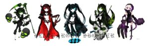 Rating: Safe Score: 35 Tags: bikini_top black_devil_girl black_gold_saw black_rock_shooter black_rock_shooter_(character) dead_master juexing strength thighhighs vocaloid User: Radioactive