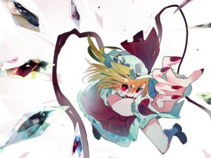 Rating: Safe Score: 14 Tags: flandre_scarlet ikurauni touhou wings User: charunetra