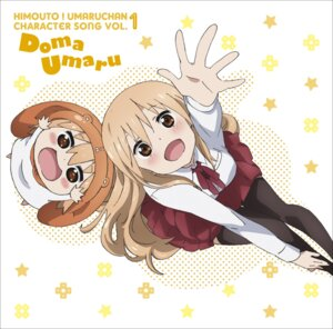Rating: Safe Score: 41 Tags: chibi disc_cover doma_umaru himouto!_umaru-chan seifuku thighhighs User: blooregardo