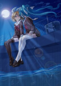 Rating: Safe Score: 29 Tags: hatsune_miku hmax kagamine_rin seifuku thighhighs vocaloid yuri User: Mr_GT