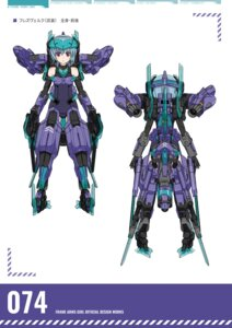 Rating: Questionable Score: 2 Tags: frame_arms_girl hresvelgr User: Halcon_Negro