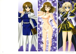 Rating: Questionable Score: 31 Tags: higa_yukari jpeg_artifacts mahou_senki_lyrical_nanoha_force mahou_shoujo_lyrical_nanoha naked pantyhose yagami_hayate User: CryFleuret