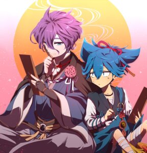Rating: Safe Score: 4 Tags: japanese_clothes kasen_kanesada male sayo_samonji tagme touken_ranbu User: joshuagraham