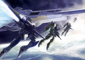 Rating: Safe Score: 7 Tags: gun gundam mecha v2_gundam victory_gundam User: drop
