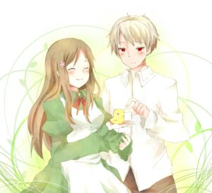 Rating: Safe Score: 5 Tags: hetalia_axis_powers hungary prussia sakuranchu User: yumichi-sama