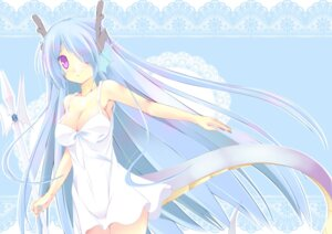 Rating: Safe Score: 26 Tags: cleavage dress kuon_itsuki monster_girl summer_dress tail User: fairyren