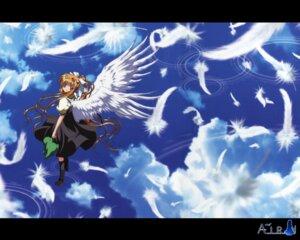 Rating: Safe Score: 17 Tags: air kamio_misuzu seifuku wallpaper wings User: LHM-999