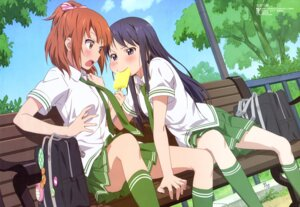 Rating: Safe Score: 77 Tags: kurahashi_riko love_lab maki_natsuo ojiri_shinya seifuku User: drop