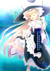 Rating: Safe Score: 27 Tags: akane_hazuki dress kirisame_marisa touhou witch User: Mr_GT
