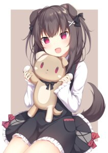 Rating: Safe Score: 69 Tags: amashiro_natsuki animal_ears dress tail User: Mr_GT