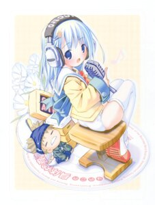 Rating: Safe Score: 10 Tags: headphones pantsu pop thighhighs User: petopeto