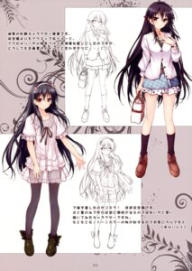 Rating: Safe Score: 22 Tags: character_design hayakawa_harui okushiro_yuki pantyhose shoujo_shiniki_shoujo_tengoku User: Hatsukoi