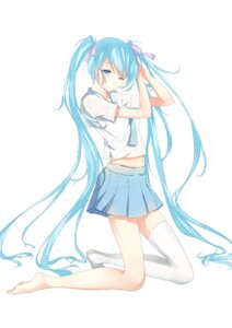 Rating: Safe Score: 42 Tags: hatsune_miku thighhighs u.n.k. vocaloid User: pikeng89