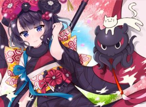 Rating: Safe Score: 34 Tags: fate/grand_order katsushika_hokusai_(fate/grand_order) kimono neko yukina_(black0312) User: Mr_GT